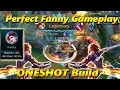 Perfect Fanny Gameplay - BEST ONESHOT FANNY BUILD - Mobile Legends