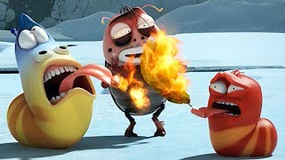 Video LARVA - BURNING HEAT | Cartoon Movie | Cartoons For Children | Larva Cartoon | LARVA Official MP3, 3GP, MP4, WEBM, AVI, FLV Agustus 2019