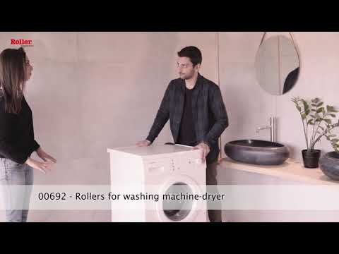 Wheels Rollers Trolley for Easy handling for Washing Machine - Home appliance - European Product