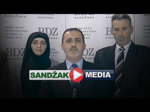 Konferencija za medije GO BDZ Sandžaka Novi Pazar