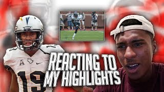 THIS IS WHAT IT TOOK TO GO D1?! REACTING TO MY HIGHLIGHTS