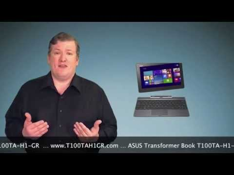 T100TA-H1-GR REVIEW  | ASUS Transformer Book 10.1