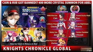 Video Cain & Rue Got Banned?!? 400 More Crystal Summon For Abel (Knights Chronicle) MP3, 3GP, MP4, WEBM, AVI, FLV Juli 2018