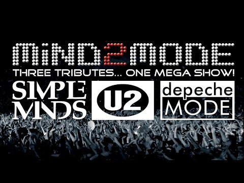 """STADIUM ROCK LEDGENDS"" by MIND2MODE, el mejor tributo a Simple Minds,U2 and Depeche Mode en un mismo show! en Barcelona"