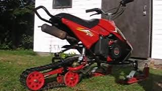 8. 80cc Super Snow FOX mini Snowmobile