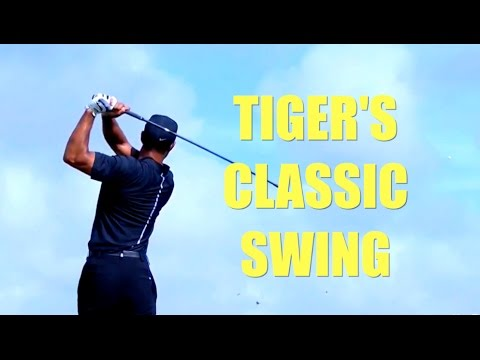 TIGER WOODS CLASSIC SWING