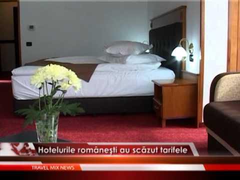 Hotelurile românești au scăzut tarifele