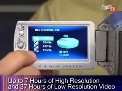 JVC GZ-MG130 Hybrid Hard Drive Digital Video Camera