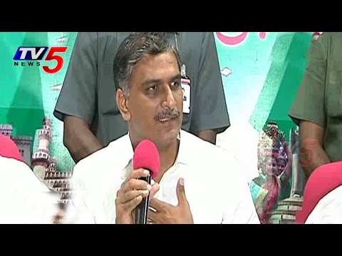 Harish Rao Blasts on AP CM Chandrababu on EAMCET Counselling : TV5 News