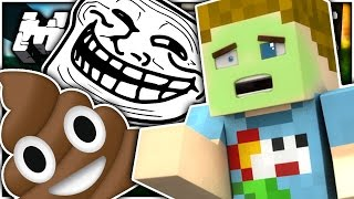 Minecraft: THE POOP TROLL!! | CRUNDEE CRAFT