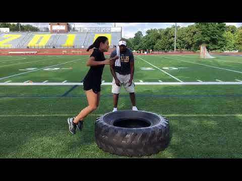 Explosiveness Training With Coach Lee – Tire Jumps