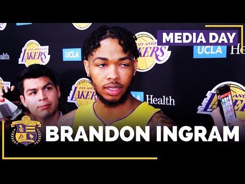 Video: Lakers Media Day: Brandon Ingram (FULL INTERVIEW)