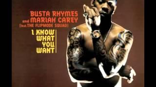 Busta Rhymes & Mariah Carey feat  Flipmode Squad   I Know What You Want Radio Edit