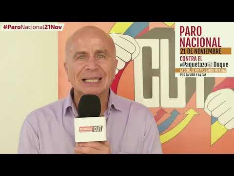 Francisco Maltés invita al #ParoNacional21N