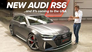 NEW Audi RS6: First Look | Carfection by Carfection