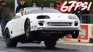 1900HP Supra Battles 2JZ Legends - The Most EPIC Supra Race Story Ever! by  That Racing Channel