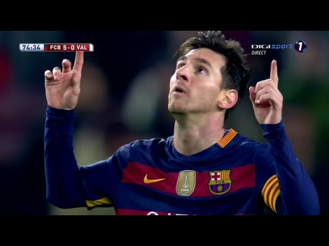 Lionel Messi Vs Valencia Copa Del Rey Home 2015-16 (03/02/2016) HD