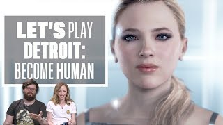 Let's Play Detroit: Become Human - New Detroit Become Human Gameplay Part 1