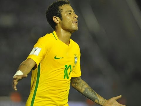Brazil 3-0 Paraguay Highlights - World cup qualifictaion All goals