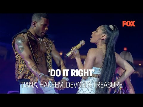 EMPIRE | Do it Right ft. Tiana, Hakeem, Devon & Treasure SE06xEP01 | FOX