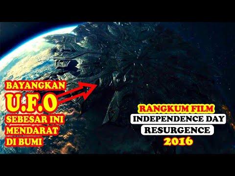 [MEREKA KEMBALI DENGAN KEKUATAN YG LEBIH BESAR] Rangkum Film - Independence Day -  RESURGENCE (2016)