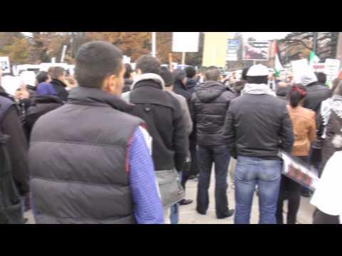 Rassemblement pour Gaza - 17 nov 2012 - BA