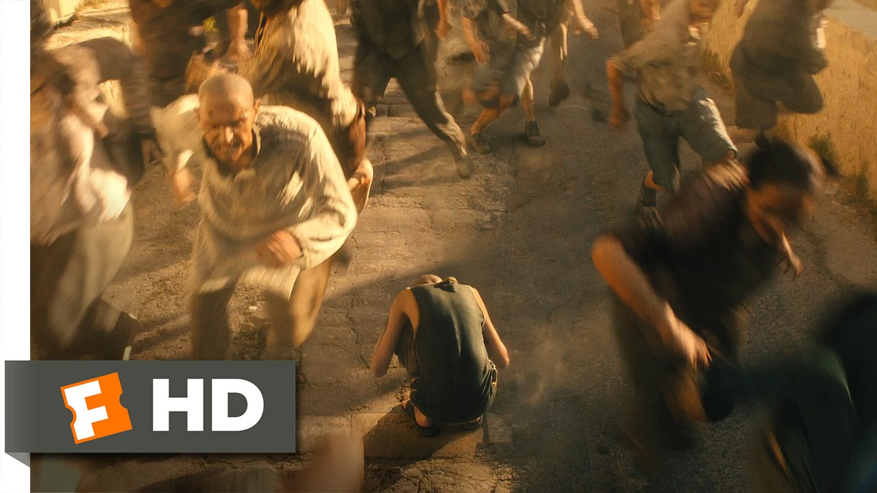 World War Z (6/10) Movie CLIP - Zombie Stampede (2013) HD