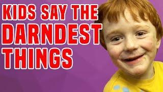 Video Kids Say The Darndest Things vs Kids Fails! MP3, 3GP, MP4, WEBM, AVI, FLV September 2019
