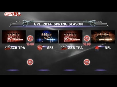 Spring - Garena Premier League 2014 Spring Season สัปดาห์ที่ 5 วันที่ 1 ATPA vs SF5 - 0:05:43 | ATPA vs NFL - 1:20:15.