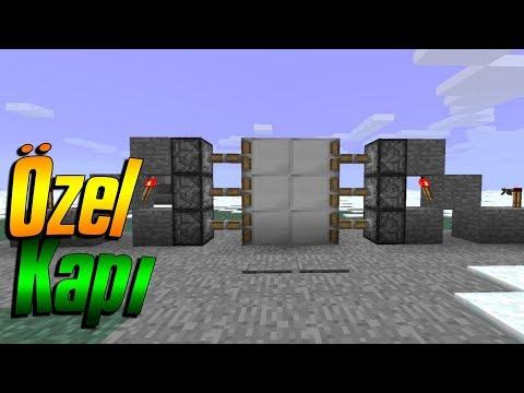 ÖZEL OTOMATİK KAPI! BUİLDCRAFT ! Minecraft Yapıları Serisi
