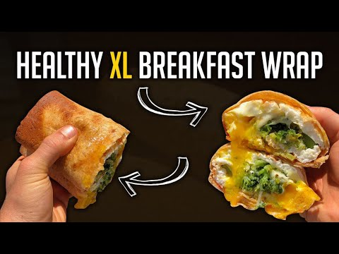 Atkins diet - Low Carb/Diet Saving XL Breakfast Wrap  Only 350 Calories