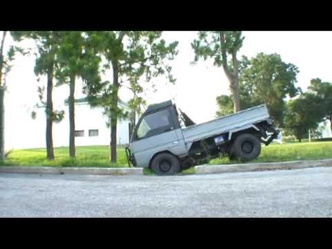 Mitsubishi MiniCab Kei Truck Part Time 4WD Test