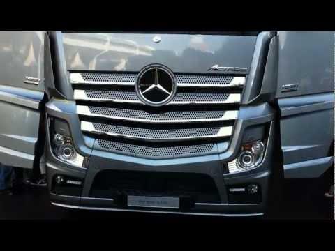 New Mercedes Benz Truck Actros