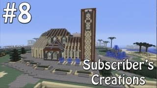 Subscriber's Creations #8 - Jam Packed World! - Minecraft Xbox 360