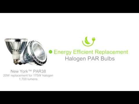 Dimmable LED PAR Light Bulb Replacements