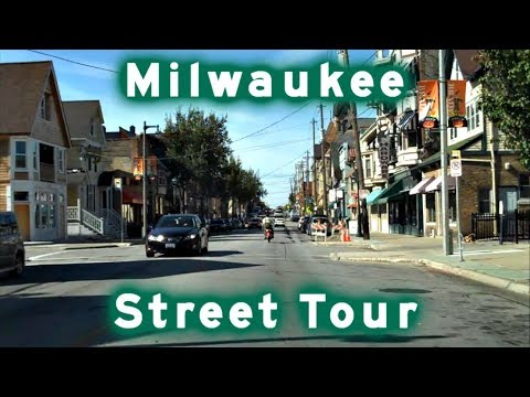 milwaukee - A drive around the streets of central Milwaukee starting on I-794. Music: Magnetic Zeros