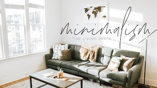 Journey to Minimalism | Decluttering Living Space by Chelsea Crockett