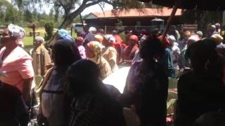 Mweiga Kenya  City new picture : Widows in Mweiga / Kenya