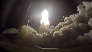 Remote Launch Pad Camera Video - Atlas V Rocket Blasts Off With MUOS-3