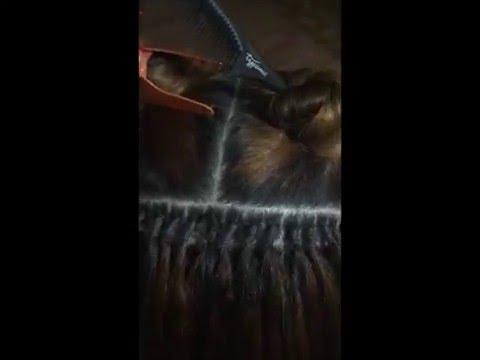 Pose extension au fil élastique - Piqué Laché