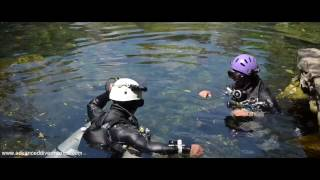 Cave diving Mexico with ADM