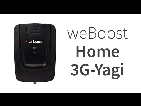 weBoost 472205 Connect 3G Directional Cell Phone Signal Booster