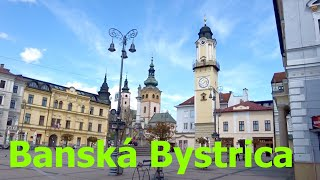 Banska Bystrica Slovakia  City new picture : Banská Bystrica, THE MOST BEAUTIFUL CITY IN SLOVAKIA, PLACES TO SEE SLOVAKIA, BANSKA BYSTRICA