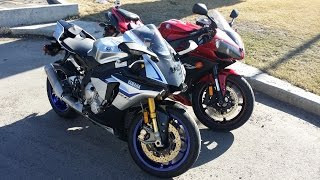 5. 2015 Yamaha YZF R1M and a 2007 Yamaha YZF R1 - A Day of R1 Fun in the Sun