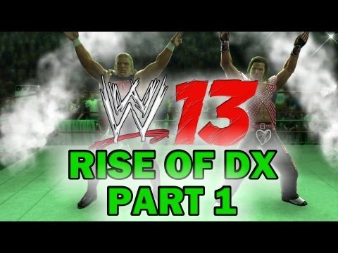WWE 13 - Attitude Era Mode Walkthrough - Rise of DX - Part 1