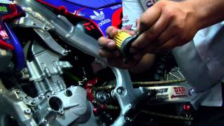 2. How To: Change Oil on a Honda CRF 250R