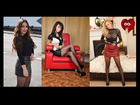Video Sexy Women with Stockings & Leather Mini Skirt download in MP3, 3GP, MP4, WEBM, AVI, FLV January 2017