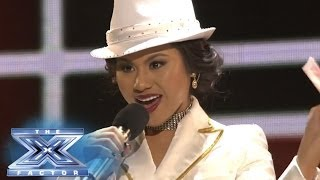 "Ellona Santiago ""Knows Best"" - THE X FACTOR USA 2013"