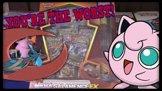 THE WORST M Salamence EX Premium Collection Box! by Master Jigglypuff and Friends