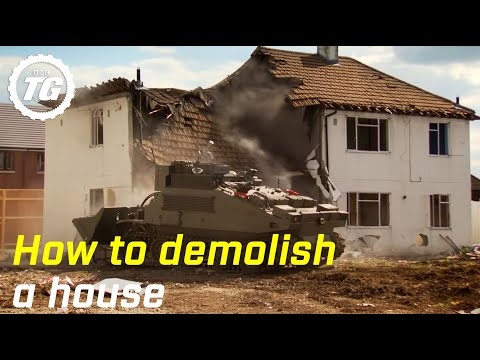 How to demolish a house – Top Gear – BBC